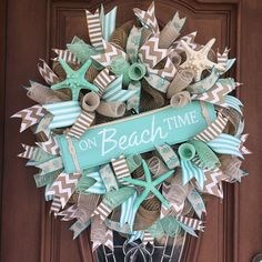 nautical listing door il wreaths coastal natural front driftwood doors wreath