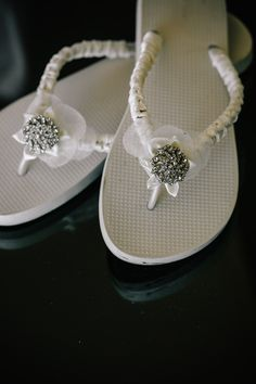 wedding flip flops, because I just don't think I want to be in uncomfortable heels on my big day haa.