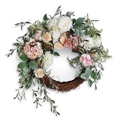 Excited to share this item from my shop: Spring Wreath for Front Door, Spring and Summer Decor, All Year Round Wreath, Front Door Decor, Peony Hydrangea Wreath Front Door Decor, Wreaths For Front Door, Door Wreaths, Front Porch, Diy Wreath, Grapevine Wreath, Wreath Ideas, Tulle Wreath, Burlap Wreaths