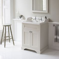 The Burlington Sand Freestanding Vanity Unit With Doors & Classic Basin has been designed to make an elegant statement in all period styled bathrooms. Freestanding Vanity Unit, Sink Vanity Unit, Bathroom Sink Units, Cloakroom Basin, Bathroom Storage, Vanity Basin, Loft Bathroom, Bathroom Basin, Family Bathroom