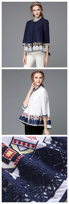 Retro Elegant women blouse, if you want to look exotic like the model do, please get the deal now!