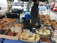 Market - Hot Cross Buns! Hot Cross Buns, Stuffed Mushrooms, Vegetables, Food, Stuff Mushrooms, Veggies, Vegetable Recipes, Meals, Yemek