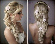 Such a beautiful hairstyle <3