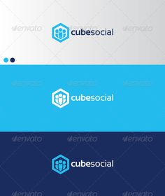 cubesocial - Logo Design Template Vector #logotype Download it here: http://graphicriver.net/item/cubesocial/593050?s_rank=100?ref=nexion