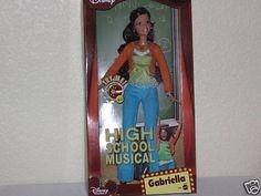 Disney High School Musical Gabriella Barbie Doll L3007