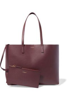 51d7d36c19b Saint Laurent - Shopper large textured-leather tote