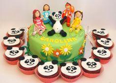 Bake a Cake: Panda e os Caricas - com a nova roupa!