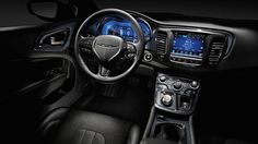 Wow, the updated interior on the New 2015 Chrysler 200 looks awesome! A great combination of lighting and materials!
