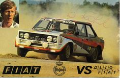 Poster of Fiat Abarth Walter Röhrl Sports Car Racing, Race Cars, Classic Sports Cars, Classic Cars, Fiat Abarth, Rally Car, Car And Driver, Hot Cars, Vehicles