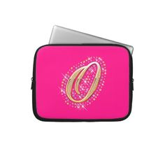 Choose from a variety of Pink laptop sleeves or make your own! Shop now for custom laptop sleeves & more! Pink Laptop, Laptop Case, Gold Gifts, Pink Gifts, Initial M, Computer Sleeve, Custom Laptop, Perfect Pink, Laptop Sleeves