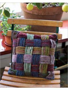 Basket Weave Pillow | InterweaveStore.com