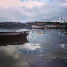 Poderia ser apenas poesia, mas estamos na Baía da Bahia// Ribeira// Salvador// 2013 Registro Thais Muniz