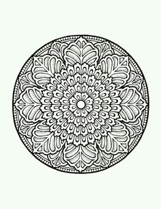 Relax While You Create With These Free Mandala Coloring Pages Find This Pin And More