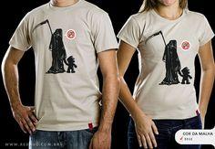 R$49.00 Catálogo - Camiseta Game Over - Camisetas Red Bug