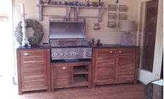 Buiten keuken & barbecue - Outdoor kitchen & barbecue #Fonteyn