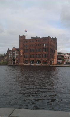 The old Droste chocolate. It has a modern cafe/restaurant now with a nice view over the Spaarne. Haarlem