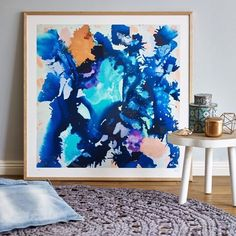 The colours in Katie Mckinnon's artwork remind me of everything I love about summer... maybe having this piece in the house would make it feel like summer all year round! Just search 'Katie' #theblock #theblockshop