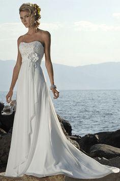 wedding dress deff like the flower & top part