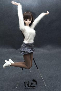 Doll tripod- New Upgraded Retractable Carbon Fiber Invisible Bracket - Taobao Ball Jointed Dolls, Tripod, Carbon Fiber, Ballet Skirt, Fashion, Moda, Tutu, Fashion Styles, Fashion Illustrations
