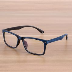 04f22d43c8d Square Wooden Eyeglasses Spectacles Frames Clear Lens Optical Frame Prescription  Glasses Frame Spectacle Men Women Eyewear