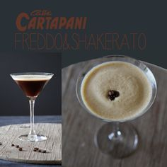 Caffè freddo shakerato  cold coffee shaken @caffècartapani