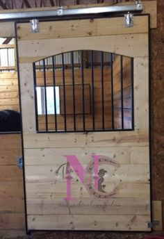 Custom Arched Horse Stall Fronts and Doors