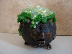 how to: making bubbles for a cauldron Halloween decoration Halloween Village, Theme Halloween, Holidays Halloween, Halloween Crafts, Happy Halloween, Halloween Decorations, Halloween Ideas, Halloween Trophies, Halloween Bottles