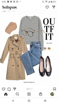 Grey Blouse, Coat, Polyvore, Jackets, Fashion, Down Jackets, Moda, Sewing Coat, Fashion Styles