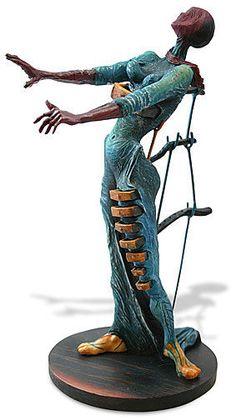 Salvador Dali Mulher Mulher Gavetas Escultura Estátua Estatueta Figura Surrealista | eBay