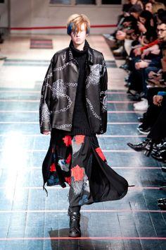 Yohji Yamamoto   FW 2014   Mode Masculine