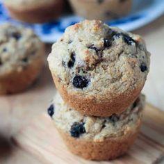 Vegan Banana Blueberry Muffins (Oil-Free!) ~ Veggie Inspired #wheatberry #wheat #wheatlovers #wheatgrass #wheatberries #farming #healthy #homegrown #Farm #wheatrecipes #food #foodie #healthylifestyle #healthyeating