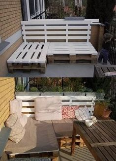 furniture of pallets. patio furniture from pallets super easy of