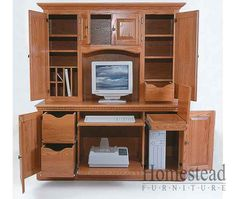 The Heirwood Collection. Armoire Office Desk