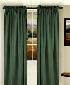 Hunter Green Curtains Window Treatments Hunter Green Contemporary