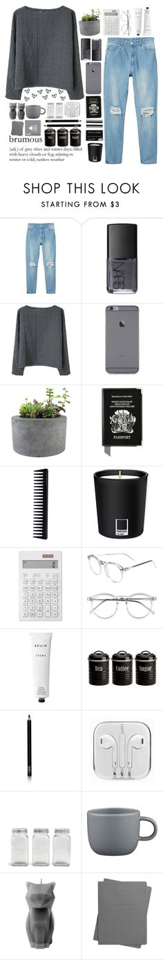 """""""&&;;ANGEL'S ONE YEAR SET CHALLENGE"""" by love2becreative ❤ liked on Polyvore featuring Monki, NARS Cosmetics, Opening Ceremony, Rough Fusion, Aspinal of London, GHD, Pantone, Muji, Wildfox and Rodin Olio Lusso"""
