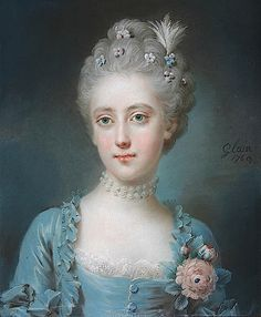 1769 Viscountess Grimston, née Harriot Walter by Leon Pascal Glain