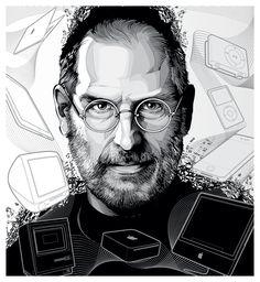Steve Jobs' vector