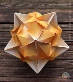 Tributary Kusudama Tutorial | Origami Tutorials