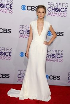 Taylor Swift in Ralph Lauren - People's Choice Awards
