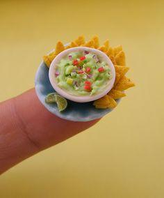 miniature food sculptures