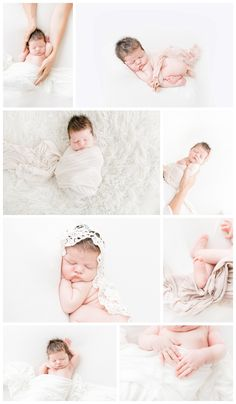 Natural Newborn Photography Posing by Miranda North