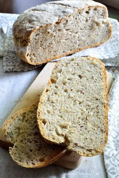 Just Bake, Bread Baking, Pain, Bread Recipes, Gluten, Sweets, Homemade, Food And Drink, Meals