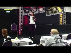 Fastpitch Softball Pitching Clinic Part One - Kim Dunlop-Borders - Episode 176. This week I am bringing you part 1 of Kim Dunlop-Borders Fastpitch Softball pitching clinic. Kim gave this clinic at Softball Con. Visit our site at http://Fastpitch.TV