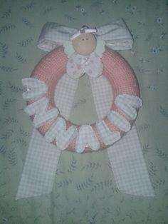 Fiocco nascita bambina #bambini #craft #diy