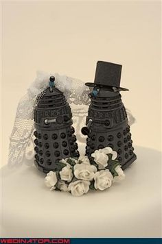 Dr Who Wedding Accessories | ... daleks doctor who themed wedding cake dreamcake funny wedding photos