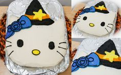 Halloween Hello Kitty Cookie-Cake + How-To Video