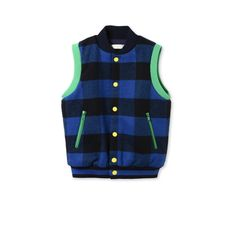Shop the Blue Checks Bram Gilet by Stella Mccartney Kids at the official online store. Discover all product information.