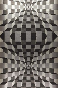 Illusion | I love the 70s | Wallpaper patterns | Wallpaper from the 70s