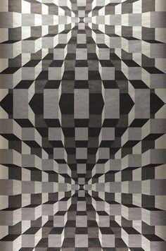 Illusion | I love the 70s | Motifs du papier peint | Papier peint des années 70