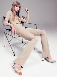 Taylor Swift in Ralph Lauren photographed by Paola Kudacki for Harper's Bazaar, November 2012.
